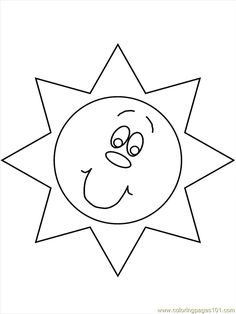 Print Nature # Sun Coloring Pages coloring page & book. Your own Nature # Sun Coloring Pages printable coloring page. With over 4000 coloring pages including Nature # Sun Coloring Pages . Coloring Pages Nature, Coloring Pages To Print, Printable Coloring Pages, Adult Coloring Pages, Coloring Books, Summer Coloring Pages, Sun Template, Templates, Sun And Moon Mandala