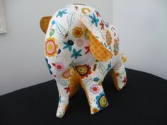 Elephant softie toy.       Items for sale on our Etsy store!  Custom orders also available  Find us on Facebook too: Http://www.facebook.com/pollymophandmade