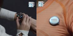 Samsung activity tracker SM R150 b