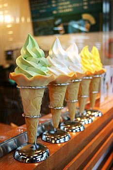 Chicago's Best Ice Cream Parlors: July is National Ice Cream Month: Get the Scoop on Ten of Chicago's favorites plus trivia. Types Of Ice Cream, Best Ice Cream, Vegan Ice Cream, National Ice Cream Month, Frozen Custard, Sorbets, Ice Cream Parlor, Ice Cream Desserts, Culinary Arts