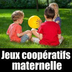 12 jeux coopératifs pour les maternelles