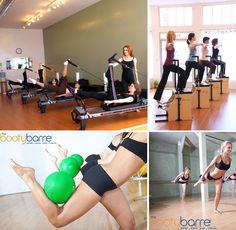 Pilates Reformer, Pilates Wunda Chair and Pilates Barre.