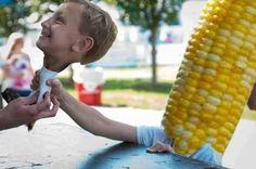 Kid & Corn Face Swap