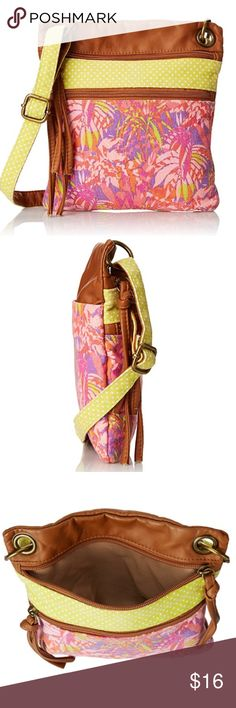 🌺 Colorful Crossbody Bag So cute! Perfect for all your essentials! New with tags. Bags Crossbody Bags
