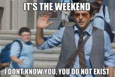 How I feel leaving school on Fridays