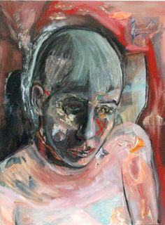 """Saatchi Art Artist Kathleen Noyes; Collage, """"Girl in Pink"""" #art"""