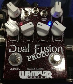 Wampler Pedals Dual Fusion Pedal