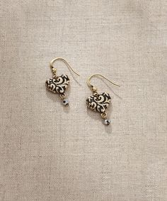Look what I found on #zulily! Heart Swirl Earrings #zulilyfinds