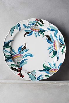 Paradise Found Dinner Plate - anthropologie.com