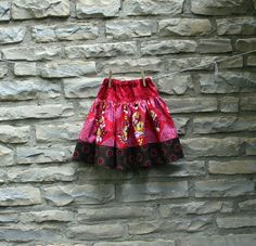 cute skirt pattern on Etsy