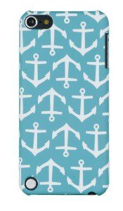 Amazon.com: Nautical Anchor Embossed Hard Case for Apple iPod Touch 5, 5G (5th Generation) - Includes DandyCase Keychain Screen Cleaner [Retail Packaging by DandyCase]: Cell Phones & Accessories