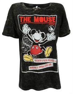 camiseta preta com desenho do mickey dando risada - Visite Riachuelo.com.br