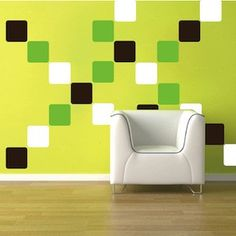 Equal Squares Wall Decals & Cheap Wall Decals From Trendy Wall Designs Cheap Wall Decals, Vinyl Wall Stickers, Vinyl Wall Decals, Wall Design, Diy Design, Church Design, Kids Decor, Home Decor, Office Interior Design