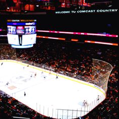 """02/16/12 Flyers vs Sabres at Wells Fargo Center,Philadelphia PA. Flyers defeat the Sabres 7-2... 5 assists for Giroux tonight, Simmonds & Talbot both with 2 goals."""""""