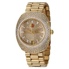 Rado Watches Women's Royal Dream Jubile Watch R90169718    Rado Women's Royal Dream Jubile Watch R90169718, Women's Watches, Rado cat1850003 cat1850007, Chronometer, Three Hand|Date, Yellow Gold Case, 42 mm, Up to 30 m (100 feet) water resistance, Gold dial, Diamond Pave dial, Gold Tone Hands dial, Diamond Bezel, Automatic movement, Movement Made in Switzerland, Yellow Gold Bracelet band  $31,040.00 at Ashford.com