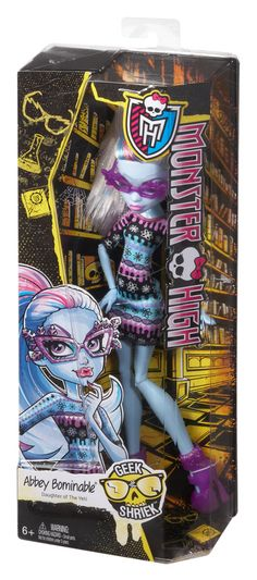 MONSTER HIGH® Geek Shriek™ Abbey Bominable™ Doll - Shop Monster High Doll Accessories, Playsets & Toys | Monster High