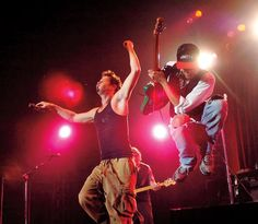 Audioslave in concert at Roseland Ballroom in New York City on April 30th, 2005