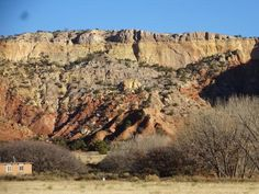 Ghost Ranch scenery