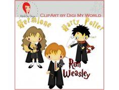 Harry Potter Clip Art by Digi My World