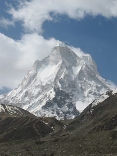 The great Shivling, the Matterhorn of the Himalayas.