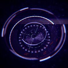 Sci-fi HUDs, Maksim Fadeev on ArtStation at https://www.artstation.com/artwork/zQend