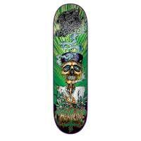 Creature Gravette Hippie Skull III Skateboard Deck
