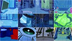 dexter's laboratory background art - Google zoeken
