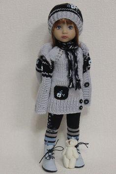 "Наряд, обувь для куклы 13 ""Дианна Effner ."