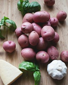 Roasted New Potatoes the little red house: friday love