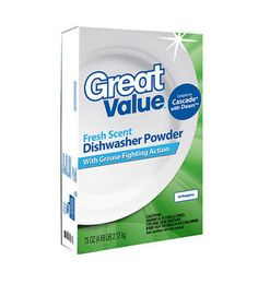 Walmart's Great Value Dishwashing Detergent Powder was the only one to get a perfect 10 on Good Housekeeping's ranking of 35 brands. $0.10 per load