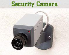 Caydırıcı Sahte Güvenlik Kamerası