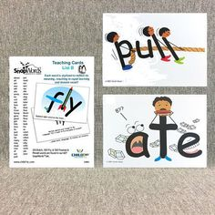 SnapWords® Teaching Cards List B includes 59 Kindergarten Sight Words that continue where List A left off. If you scan a child's book, doubtless you will see many of these words appearing over and ove