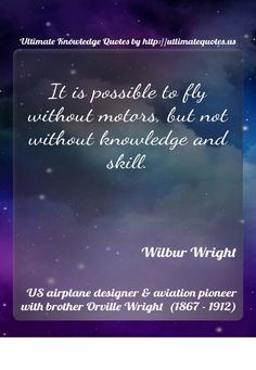 #WilburWright by #UltimateQuotes