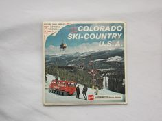 Colorado Ski Country View Master GAF Packet 1960s