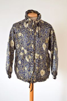 vintage retro NUMERO UNO SKI JACKET size womens M-L 80s 90s rare partial suit #NumeroUno