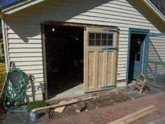 Carriage Garage Doors Diy building carriage doors from scratch - the garage journal board