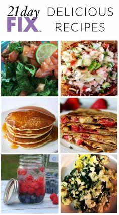 The best 21 Day Fix recipes I've found! Enjoy! #21DayFix