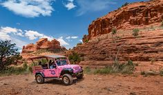 Broken Arrow & Scenic Rim Combo Tours.  Off-Road Jeep Adventure, climb rugged terrain along world-famous Sedona, AZ red rock formations.