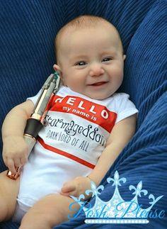 Doctor Who baby Stormageddon onesie