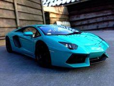 Sky Blue Aventador