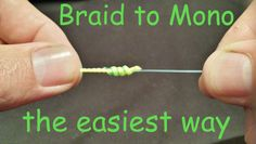 How to Tie Braid to Mono leader knot quick and easy. Learn in this tutorial how to tie Braided fishing lines to Monofilament or Fluorocarbon leaders. The fir...