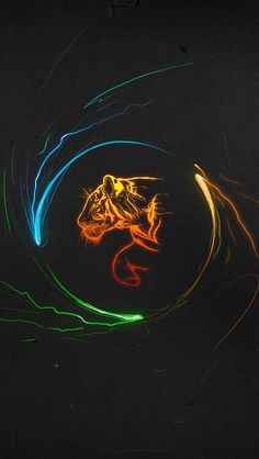 Multicolor Tigers #iPhone #5s #Wallpaper | The coming tiger.
