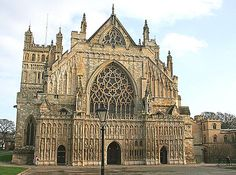 Exeter Cathedral, Devon, UK