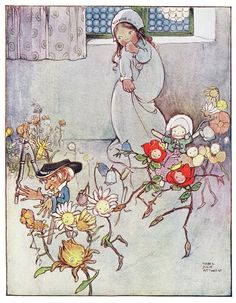 Mabel Lucie Attwell  -  Little Ida's Flowers