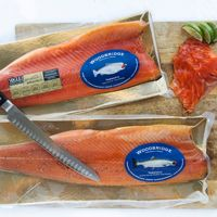 A fine seafood delicacy which does justice to the Atlantic Salmon and the apple trees! Atlantic Salmon, Smokehouse, Wood Bridge, 30 Degrees, The Smoke, Apple Tree, Product Review, Smoked Salmon, Fuji