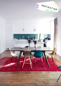Inspiration: 3 Casual Dining Rooms / H Blog - House