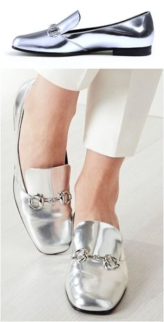 Photo from gucci Gucci Horsebit Loafers, Ankle Boots, Shoe Boots, Pijamas Women, High Shoes, Pump Shoes, Gucci Shoes, Gucci Gucci, Silver Shoes