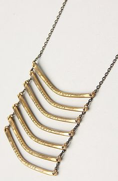 The Breastplate Necklace in Bronze by Ax   Apple