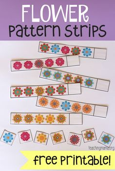 I'm so happy it's finally spring! I cannot wait for flowers to bloom and to see green everywhere! Since it's spring, I wanted to share with you my Flower Pattern Strips. This free printable is an awesome and fun way to practice patterns with preschoolers. Completing patterns is an important skill for preschoolers and kindergarteners …