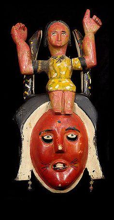 Mamiwata mask from Nigeria, Africa